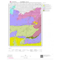 E31c4 Paftası 1/25.000 Ölçekli Vektör Jeoloji Haritası