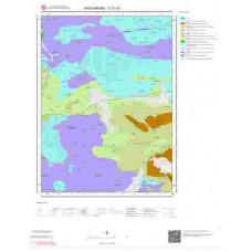 E31d1 Paftası 1/25.000 Ölçekli Vektör Jeoloji Haritası