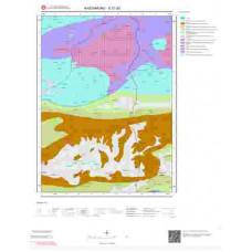 E31d2 Paftası 1/25.000 Ölçekli Vektör Jeoloji Haritası