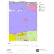 E31d4 Paftası 1/25.000 Ölçekli Vektör Jeoloji Haritası