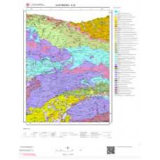 E32 Paftası 1/100.000 Ölçekli Vektör Jeoloji Haritası