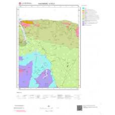 E32a1 Paftası 1/25.000 Ölçekli Vektör Jeoloji Haritası