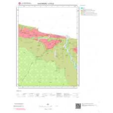 E32a2 Paftası 1/25.000 Ölçekli Vektör Jeoloji Haritası