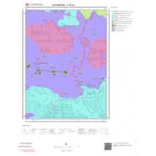 E32a4 Paftası 1/25.000 Ölçekli Vektör Jeoloji Haritası