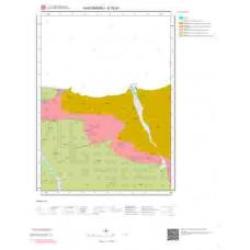 E32b1 Paftası 1/25.000 Ölçekli Vektör Jeoloji Haritası