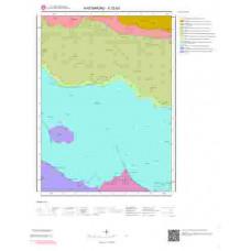 E32b3 Paftası 1/25.000 Ölçekli Vektör Jeoloji Haritası