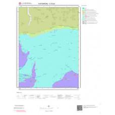 E32b4 Paftası 1/25.000 Ölçekli Vektör Jeoloji Haritası
