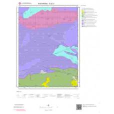 E32c1 Paftası 1/25.000 Ölçekli Vektör Jeoloji Haritası