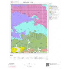 E32c2 Paftası 1/25.000 Ölçekli Vektör Jeoloji Haritası