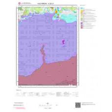 E32c3 Paftası 1/25.000 Ölçekli Vektör Jeoloji Haritası