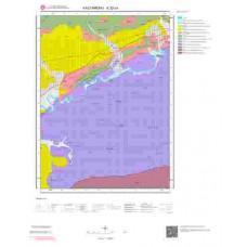 E32c4 Paftası 1/25.000 Ölçekli Vektör Jeoloji Haritası