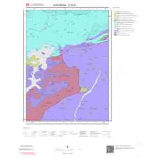 E32d1 Paftası 1/25.000 Ölçekli Vektör Jeoloji Haritası