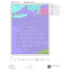 E32d2 Paftası 1/25.000 Ölçekli Vektör Jeoloji Haritası