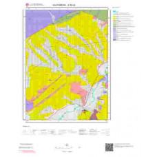 E32d3 Paftası 1/25.000 Ölçekli Vektör Jeoloji Haritası