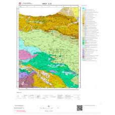E33 Paftası 1/100.000 Ölçekli Vektör Jeoloji Haritası