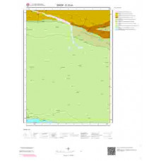 E33a3 Paftası 1/25.000 Ölçekli Vektör Jeoloji Haritası