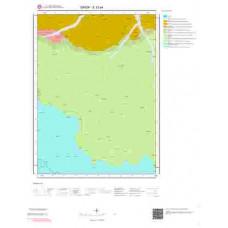 E 33-a4 Paftası 1/25.000 ölçekli Jeoloji Haritası