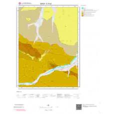E 33-b2 Paftası 1/25.000 ölçekli Jeoloji Haritası