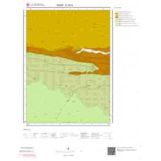 E33b3 Paftası 1/25.000 Ölçekli Vektör Jeoloji Haritası