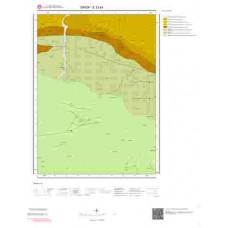 E33b4 Paftası 1/25.000 Ölçekli Vektör Jeoloji Haritası