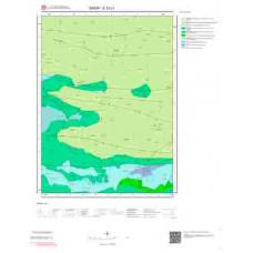 E33c1 Paftası 1/25.000 Ölçekli Vektör Jeoloji Haritası