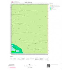 E33c2 Paftası 1/25.000 Ölçekli Vektör Jeoloji Haritası