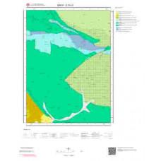 E33c3 Paftası 1/25.000 Ölçekli Vektör Jeoloji Haritası