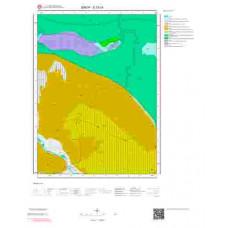 E33c4 Paftası 1/25.000 Ölçekli Vektör Jeoloji Haritası
