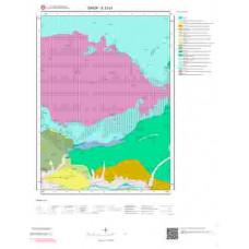 E33d1 Paftası 1/25.000 Ölçekli Vektör Jeoloji Haritası
