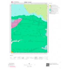 E 33-d2 Paftası 1/25.000 ölçekli Jeoloji Haritası