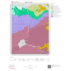 E33d4 Paftası 1/25.000 Ölçekli Vektör Jeoloji Haritası