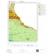 E34 Paftası 1/100.000 Ölçekli Vektör Jeoloji Haritası