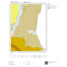 E34a1 Paftası 1/25.000 Ölçekli Vektör Jeoloji Haritası