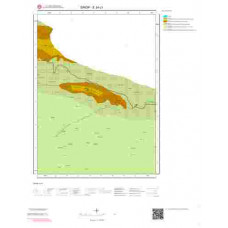 E34c1 Paftası 1/25.000 Ölçekli Vektör Jeoloji Haritası