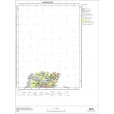 E49 Paftası 1/100.000 Ölçekli Vektör Jeoloji Haritası
