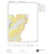 E49c4 Paftası 1/25.000 Ölçekli Vektör Jeoloji Haritası