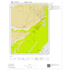 F16c2 Paftası 1/25.000 Ölçekli Vektör Jeoloji Haritası
