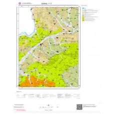F 17 Paftası 1/100.000 ölçekli Jeoloji Haritası