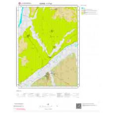 F17a3 Paftası 1/25.000 Ölçekli Vektör Jeoloji Haritası