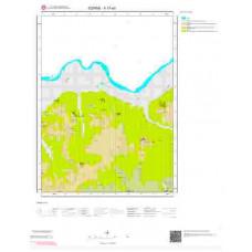 F17a4 Paftası 1/25.000 Ölçekli Vektör Jeoloji Haritası