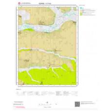 F17b3 Paftası 1/25.000 Ölçekli Vektör Jeoloji Haritası