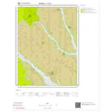 F17c3 Paftası 1/25.000 Ölçekli Vektör Jeoloji Haritası