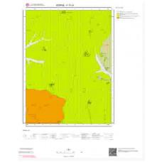 F17c4 Paftası 1/25.000 Ölçekli Vektör Jeoloji Haritası