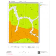 F17d3 Paftası 1/25.000 Ölçekli Vektör Jeoloji Haritası