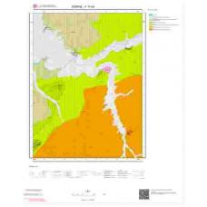 F17d4 Paftası 1/25.000 Ölçekli Vektör Jeoloji Haritası