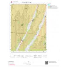F18a2 Paftası 1/25.000 Ölçekli Vektör Jeoloji Haritası