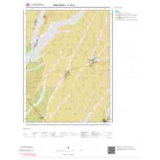 F18b2 Paftası 1/25.000 Ölçekli Vektör Jeoloji Haritası