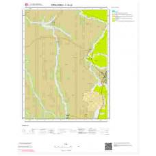 F18c2 Paftası 1/25.000 Ölçekli Vektör Jeoloji Haritası