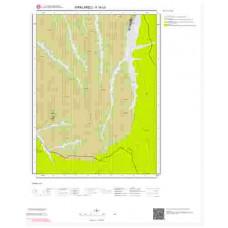 F18c3 Paftası 1/25.000 Ölçekli Vektör Jeoloji Haritası