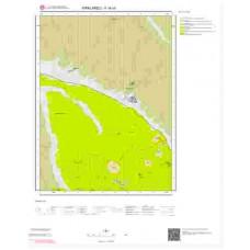 F18c4 Paftası 1/25.000 Ölçekli Vektör Jeoloji Haritası